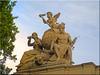 Görlitz/Germany - Engelfiguren auf der ehemaligen Oberpostdirektion