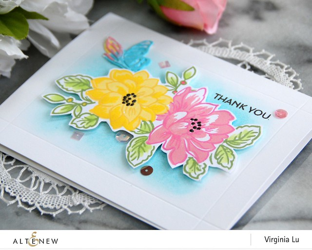 Altenew-SunlitFlowerCardKit-Virginia#5