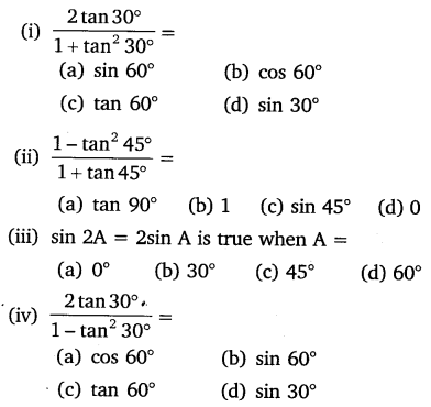 NCERT Solutions for Class 10 Maths Chapter 8 Introduction to Trigonometry 21