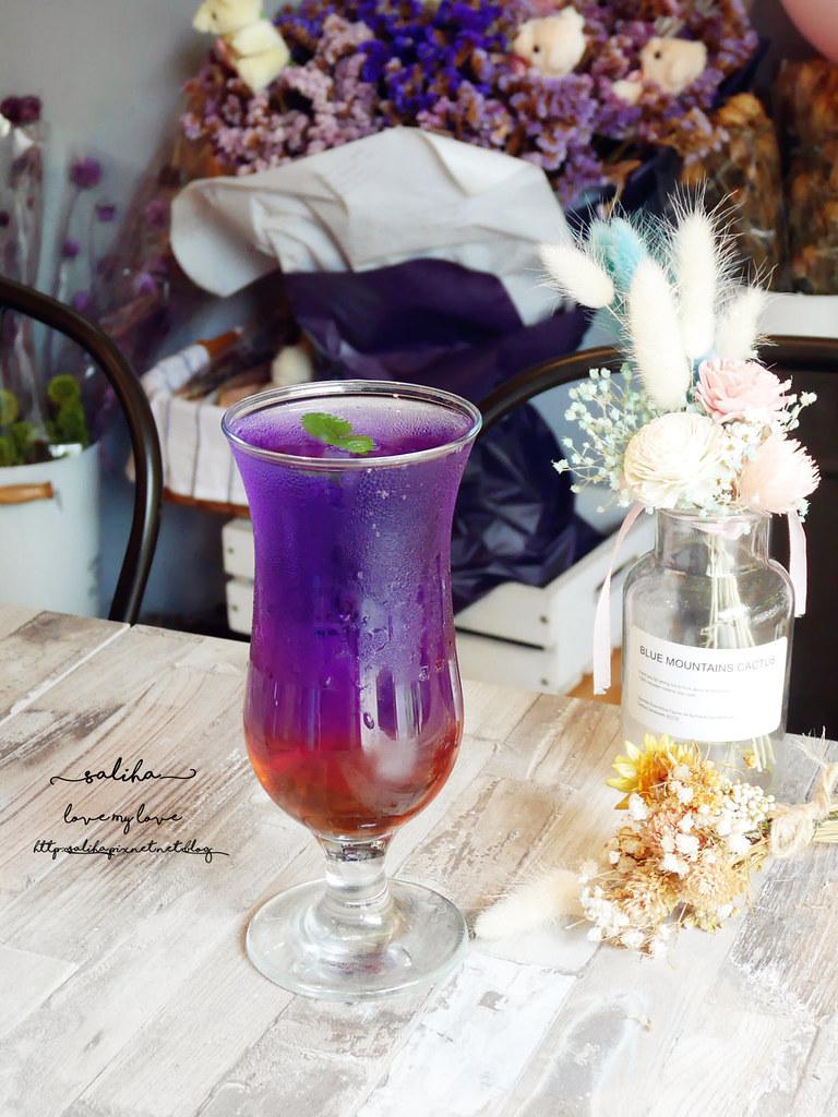 新店好拍乾燥花浪漫氣氛好餐廳咖啡館下午茶推薦花草慢食光 (3)