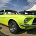 '67 Electric Green Mustang