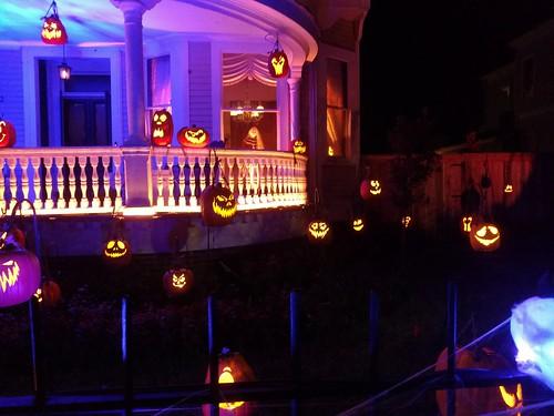 Ghost Manor pumpkins