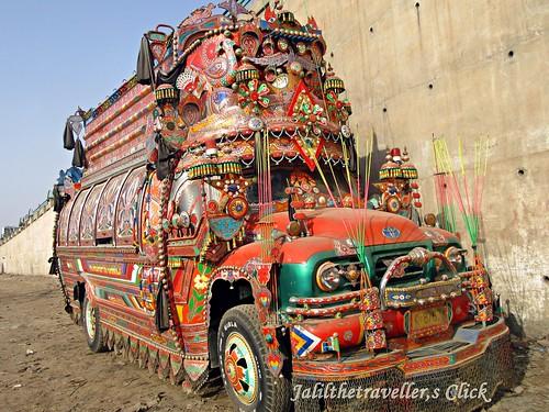 peshawarcity truck art pakistan travel