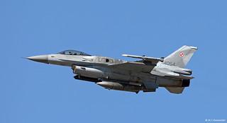 Sily Powietrzne General Dynamics F-16C Fighting Falcon Block 52+ 4054, 6th Sqn, TLP 2018-3, Albacete AFB/LEAB