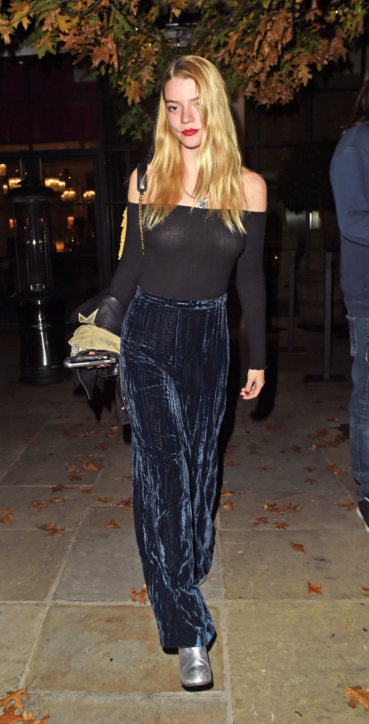 Anya Taylor-Joy – Leaving the Chiltern Firehouse in London 2018