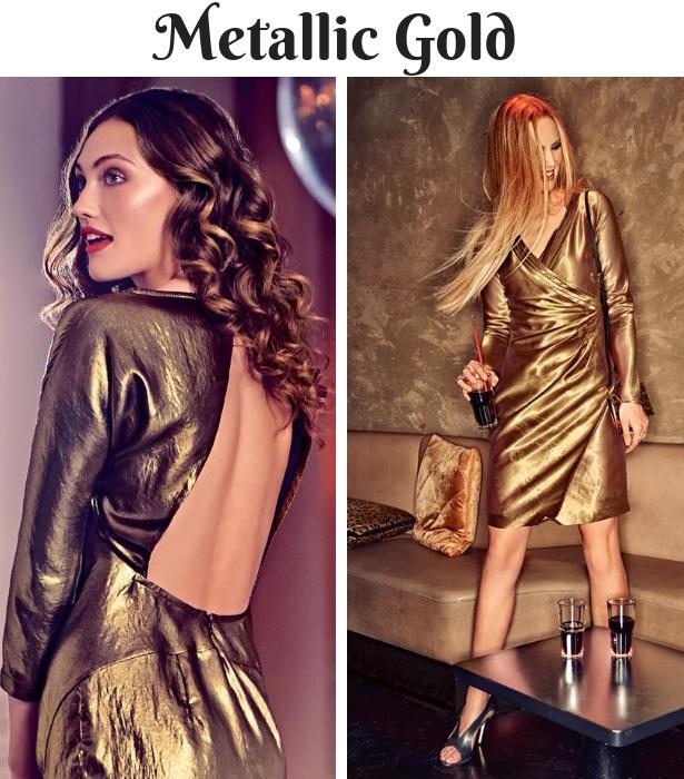Fall Wedding Wear GOLD