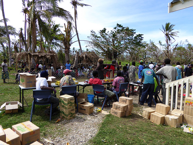 """Humanitarian Aid after """"Actys of God"""" Cyclones is intermittent and haphazard, placing the livelihoods of the poor at critically low margins."""