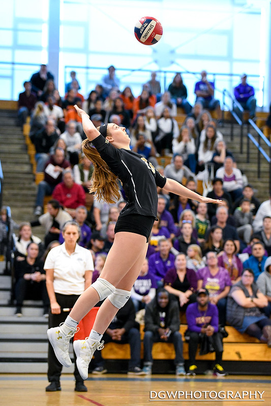 Trumbull High vs. Westhill - FCIAC Volleyball Finals