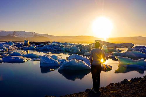 Jökulsárlón first ever visit - Glacier Lagoon 2 Day Tour. Photographer Scott Drummond
