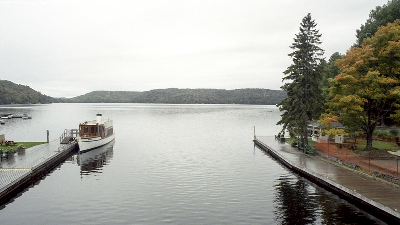 Looking Out over The Lake of Bays