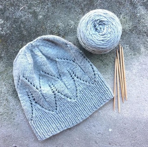 Pastella hat by Katrin Schubert knit in Kelbourne Woolens' Scout by @magpieyarn