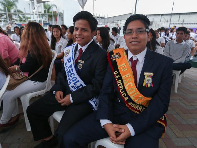 Cierre de Intervención de la U.E Réplica Aguirre Abad
