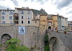 Hoofdpoort vam Entrevaux - Photo of Sallagriffon