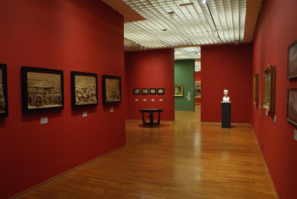 Musée d'art moderne et contemporain à Turin : Collection des années 1800.