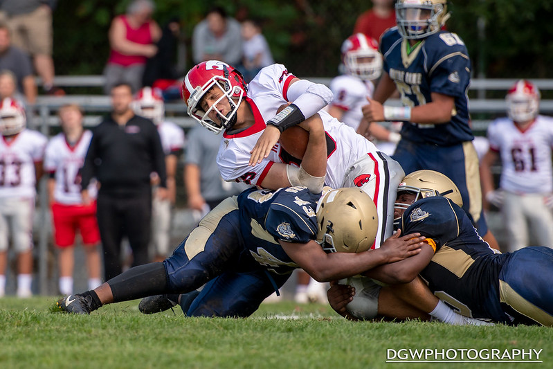 Masuk vs. Notre Dame of Fairfield - High School Football