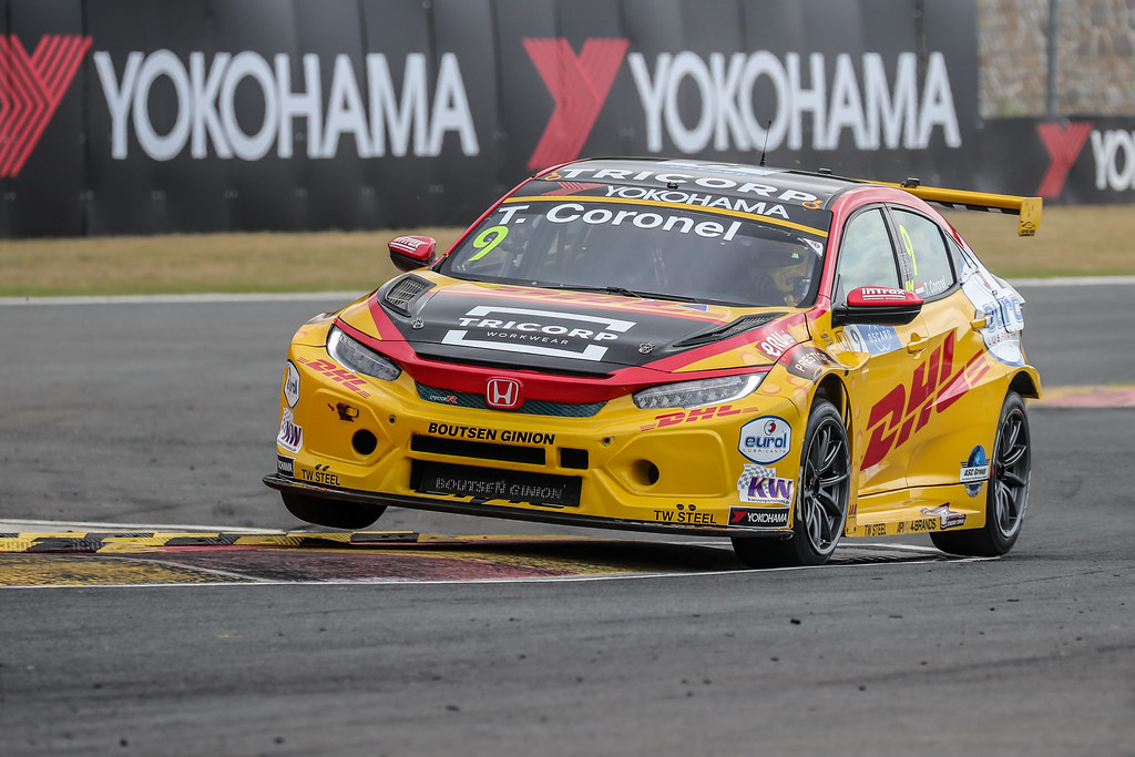 09 CORONEL Tom, (nld), Honda Civic TCR team Boutsen Ginion racing, action during the 2018 FIA WTCR World Touring Car cup of China, at Ningbo  from September 28 to 30 - Photo Marc de Mattia / DPPI