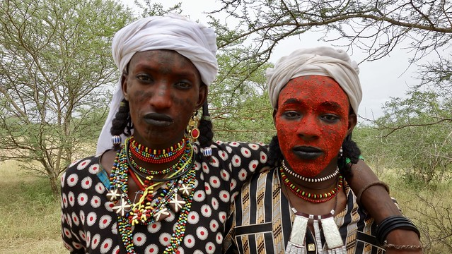 Wodaabe men…