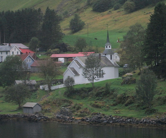 Church, Nærøyfjord, Norway