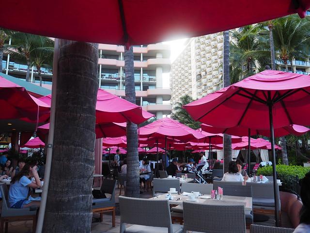 P7078668 サーフラナイ(Surf Lanai) hawaii ハワイ 朝食 ロイヤルハワイアンホテル ひめごと