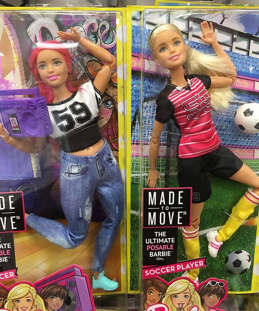They were hidden behind other dolls.