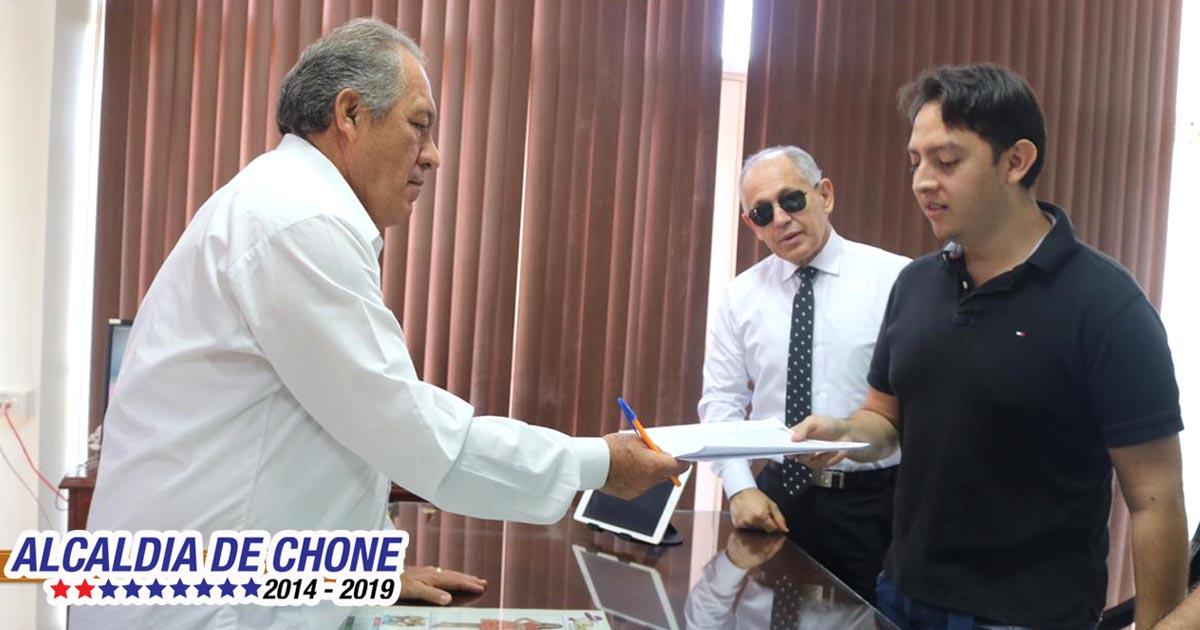 Hoy se firmó la regeneración urbana de la avenida Eloy Alfaro