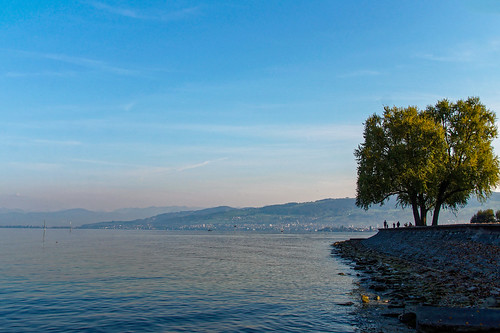 View from the lake promenade in Arbon