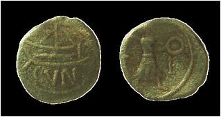 Cunobeline Ship coin photo