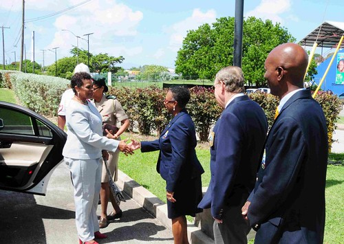 Governor General tours Barbados Olympic Association (1) | by barbadosgovernmentinformationservice