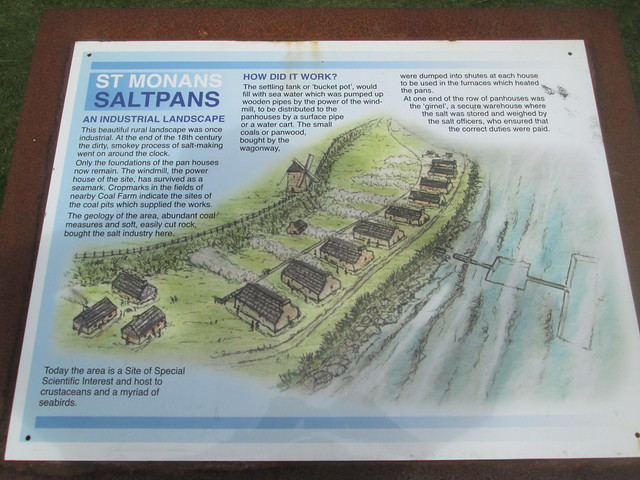 Salt Pan Information Board