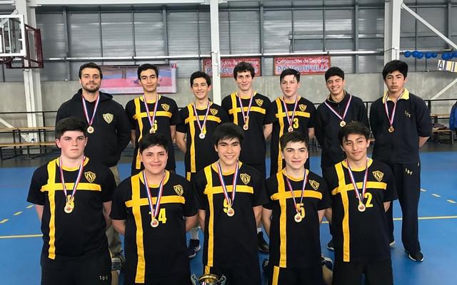 Handball ISV: Campeones Regionales Juegos Deportivos Escolares, Categoría Cadetes
