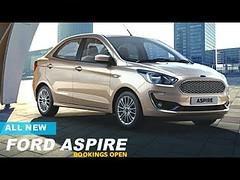 Bookings Open | New 2018 Ford Aspire Officialy Revealed Ahead Of Launch
