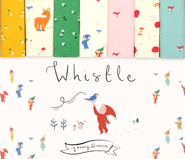 Birch Fabrics Whistle Collection by Jenny Ronen
