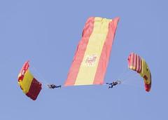 Ejército del Aire en la Festa Al Cel