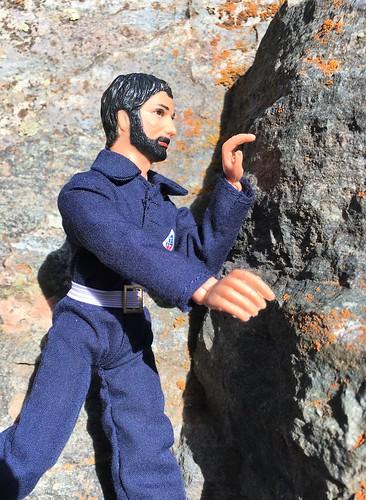 Rock Climbing Action Jackson.