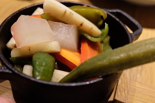 農家野菜の自家製ピクルス