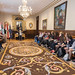 Harrera ekitaldia Hungariako ikasleei / Recepción a estudiantes húngaros (26-09-2018)