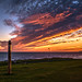 Peace Pole Sunset