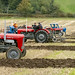 Vintage Plowing match on the isle of Bute