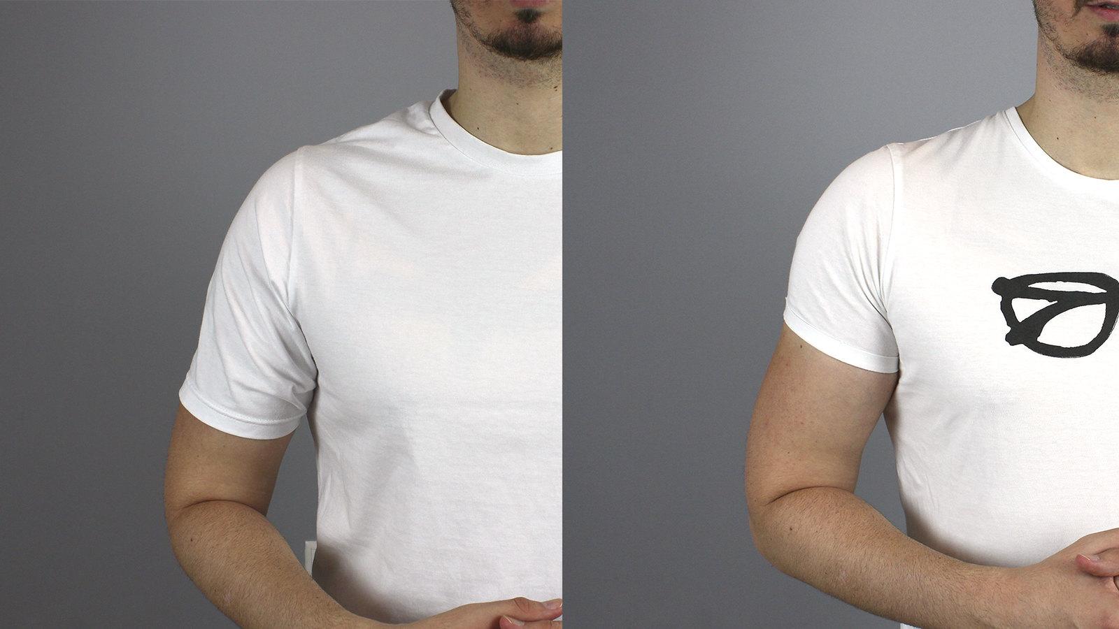 MANGAS de CAMISETA →¿Cómo debe quedar una camiseta de hombre?