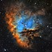 Pacman Nebula NGC 281 in Narrowband by TransientAstronomer