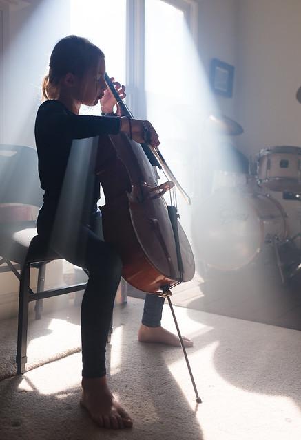 Cello child