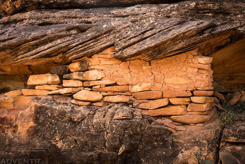 Granary Wall Remains