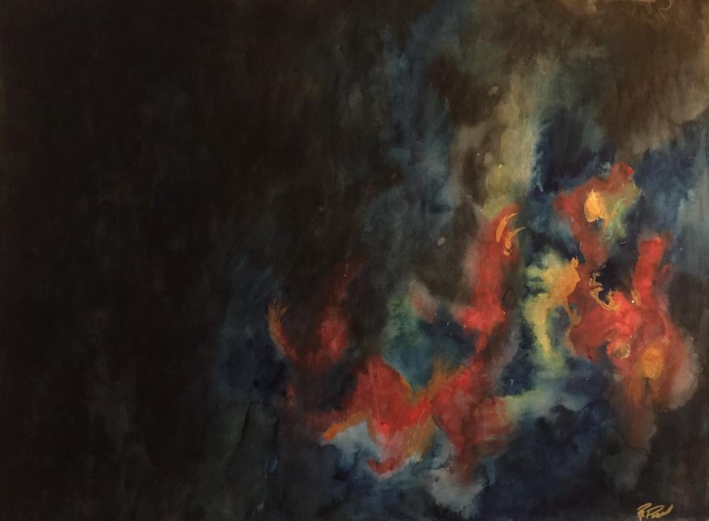 Rebecca Pons, BECCA PONS STUDIO, BECCA PONS, watercolor, fine art, FORBIDDEN FUTURE, 7 Ways Collection, Artist