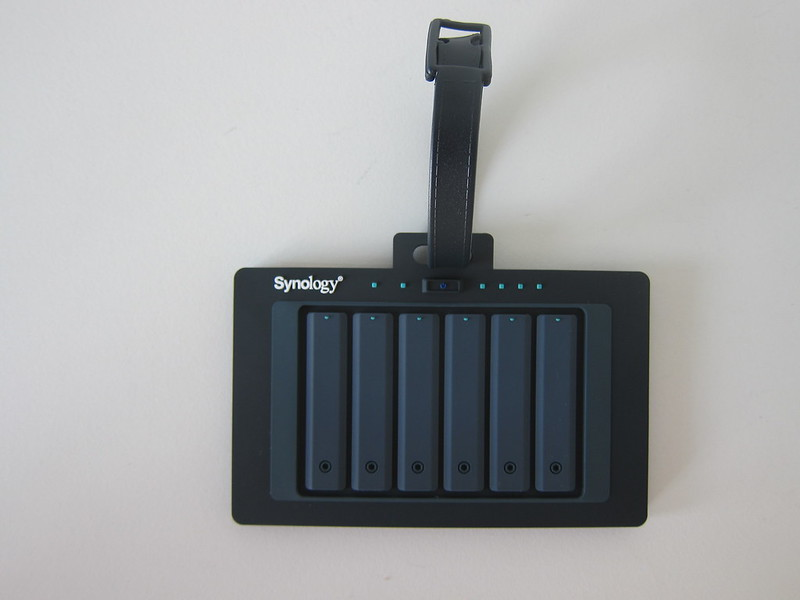 Synology NAS Swag - Luggage Tag - Front
