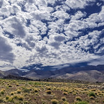 18. Aprill 2012 - 14:52 - Clouds over West Mountain in SW Utah
