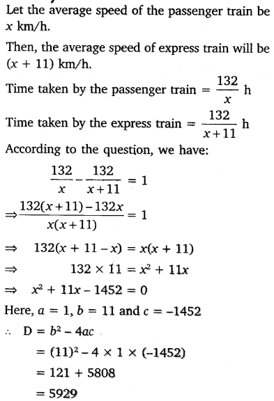 NCERT Solutions for Class 10 Maths Chapter 4 Quadratic Equations 35