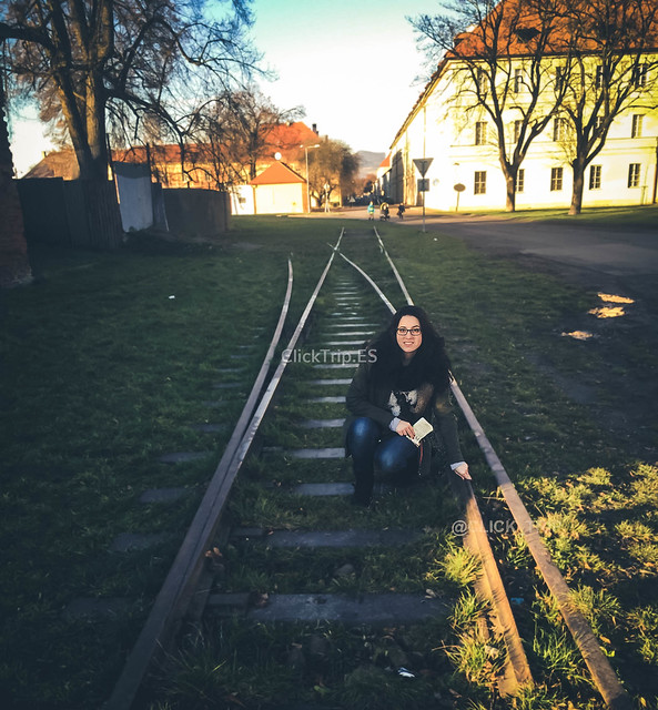 · Antiguas vías · Campo de concentración de Terezín ·Terezín ·