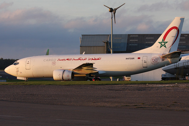 Royal Air Maroc Cargo, Canon EOS 40D, Canon EF 100-400mm f/4.5-5.6L IS II USM