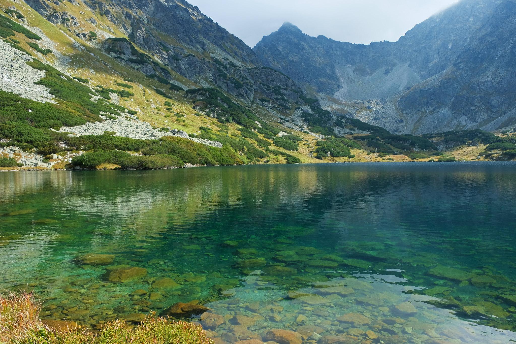 Nižné Temnosmrečinské pleso, High Tatras