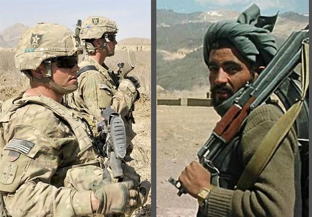 گفتگوی طالبان و امریکاییها در بگرام